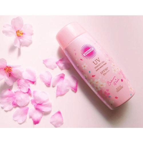 Kose Suncut UV Perfect Gel Super Water Proof SPF 50+ PA++++ Sakura Edition