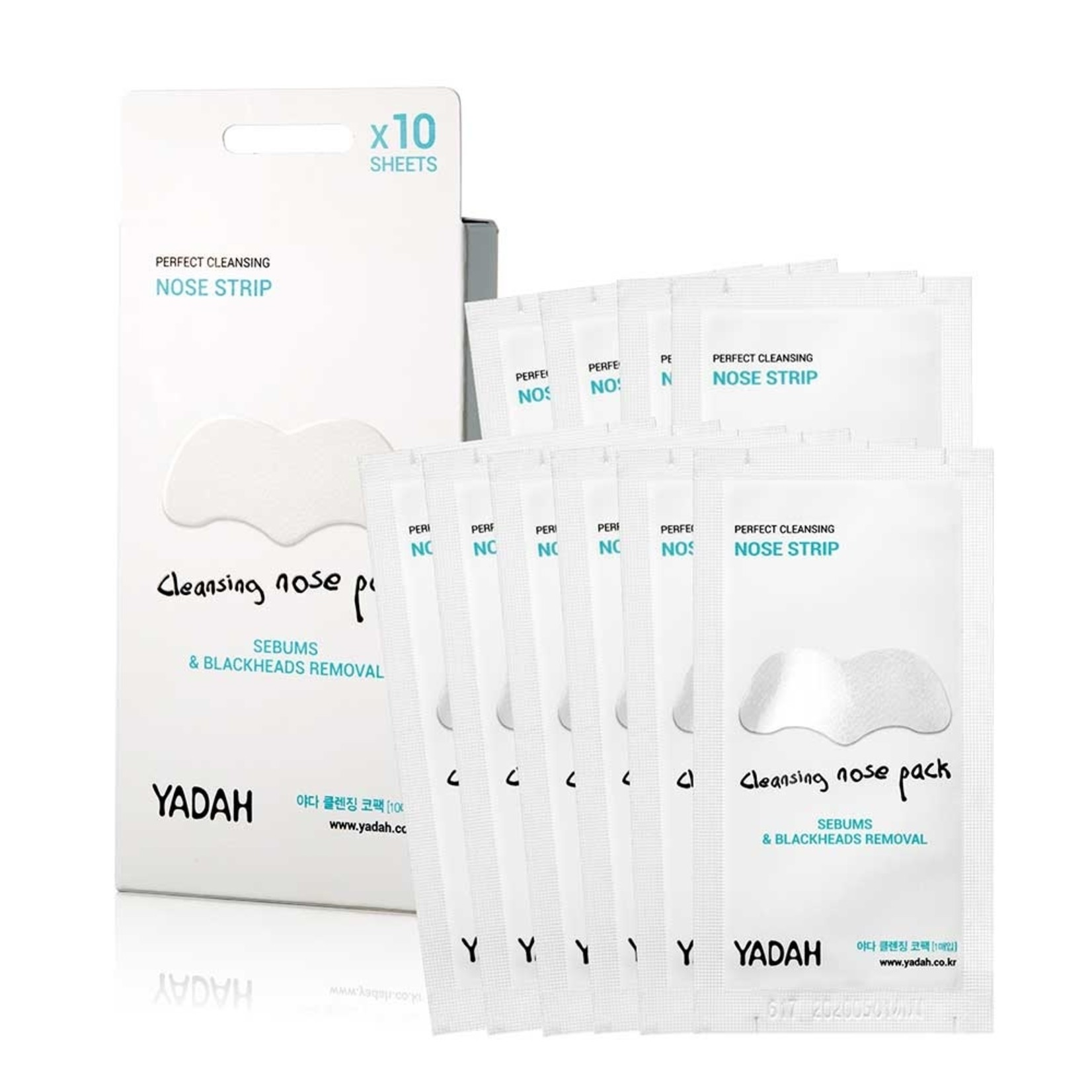 Yadah Cleansing Nose Pack 10 pcs