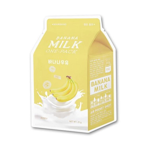 A'pieu Banana  Milk One Pack Mask 10 pcs