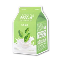 Green tea  Milk One Pack Mask 10 pcs