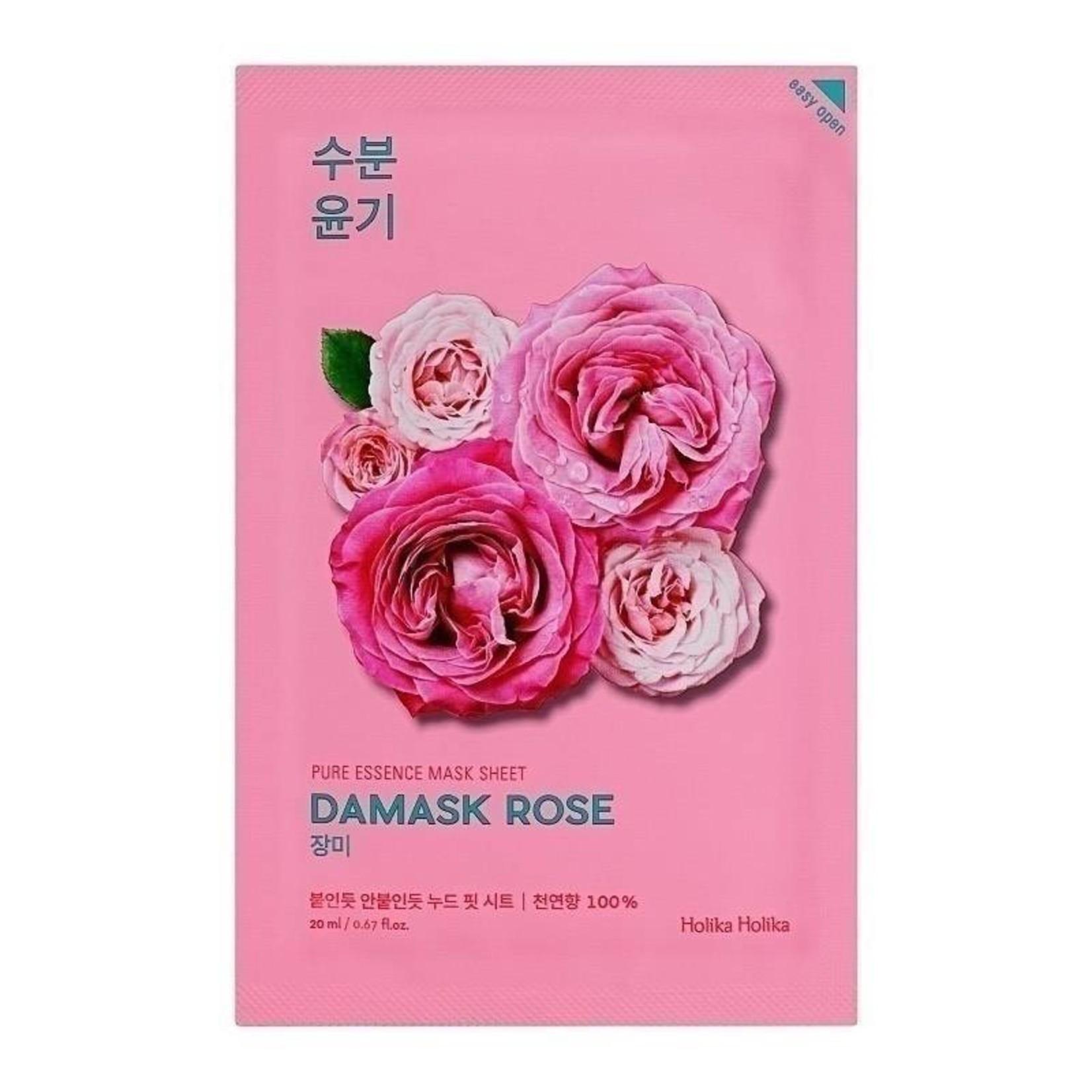 Holika Holika Pure Essence Mask Sheet Damask Rose 10 pcs