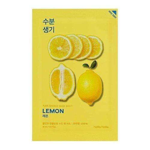 Holika Holika Pure Essence Mask Sheet Lemon 10 pcs