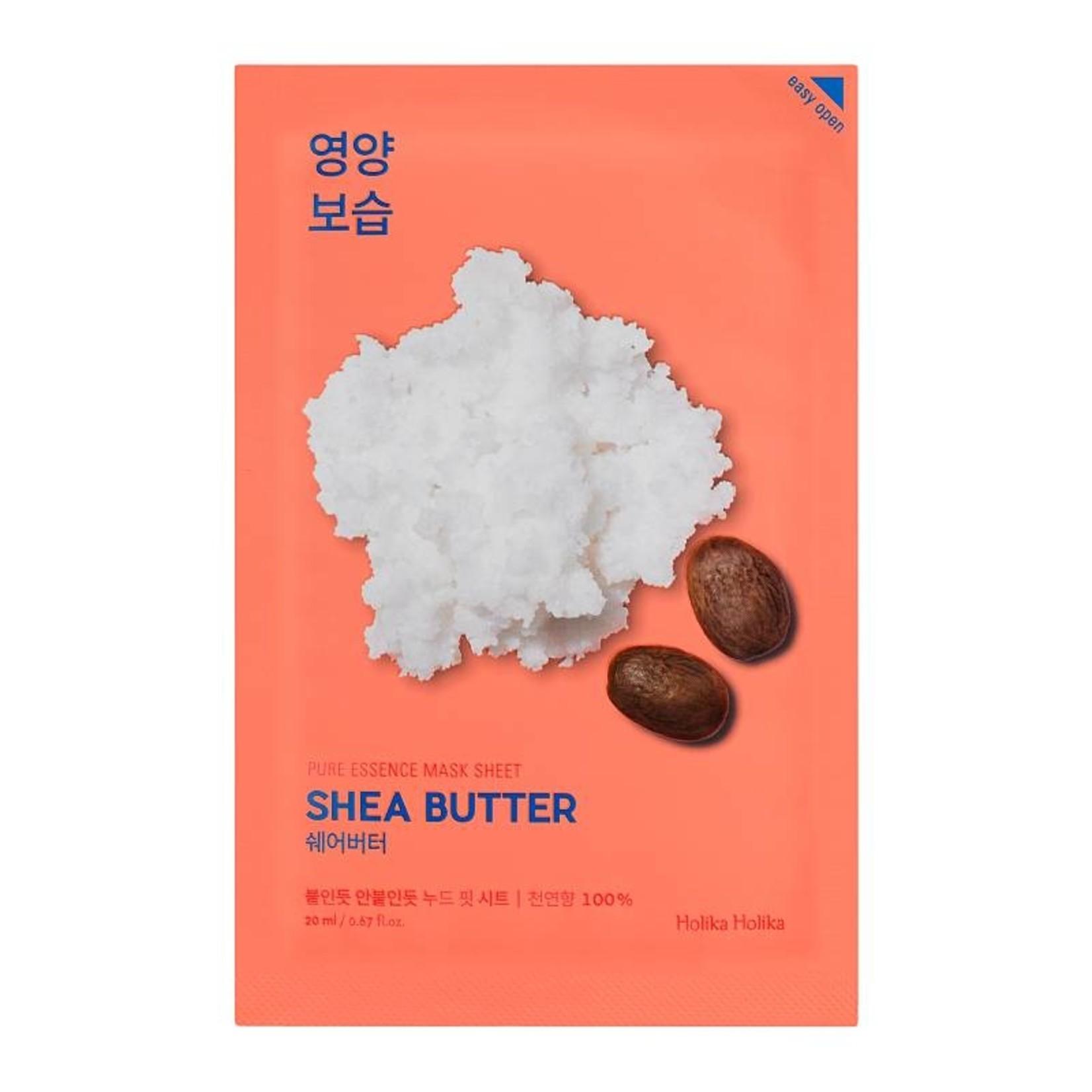 Holika Holika Pure Essence Mask Sheet Shea Butter 10pcs