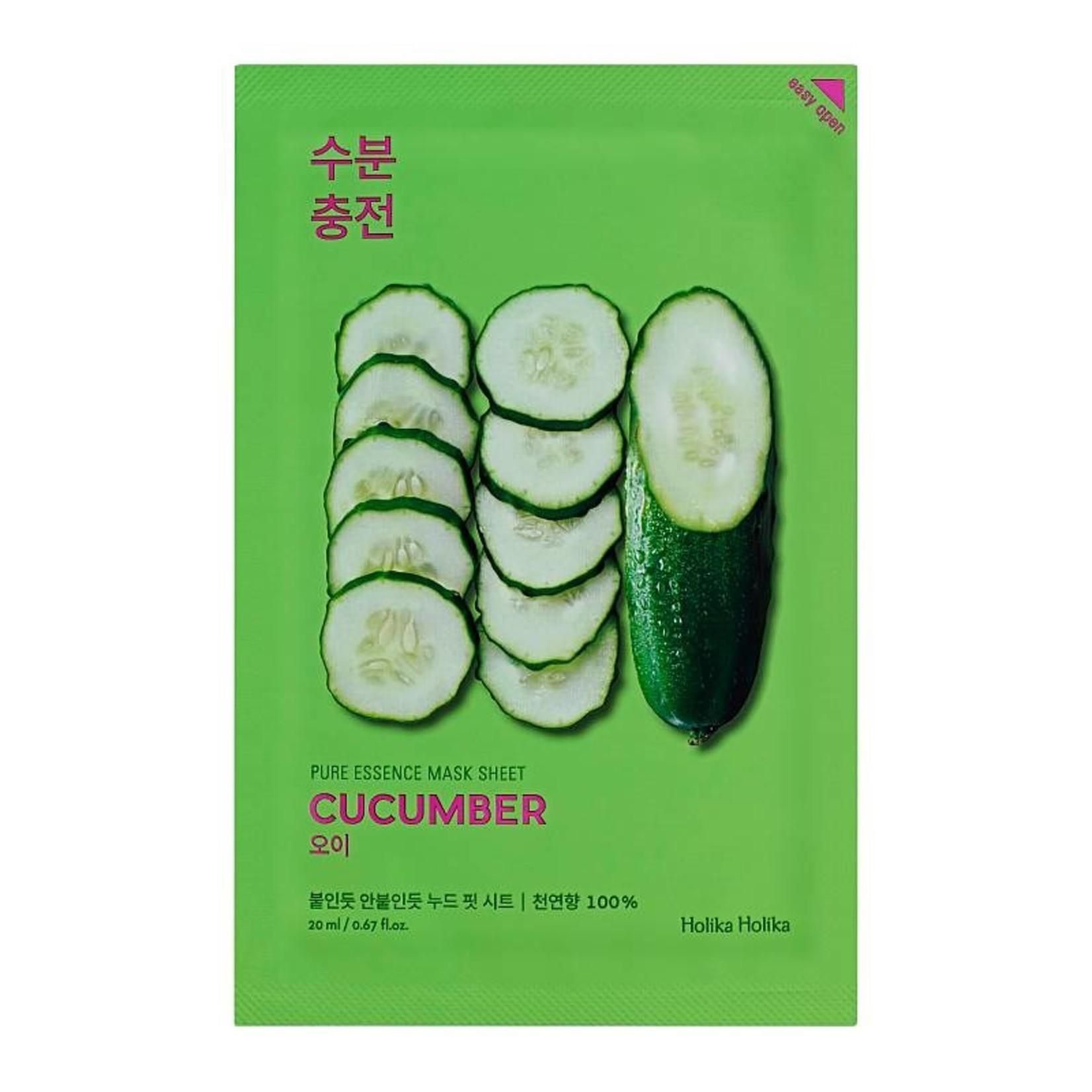 Holika Holika Pure Essence Mask Sheet Cucumber 10 pcs