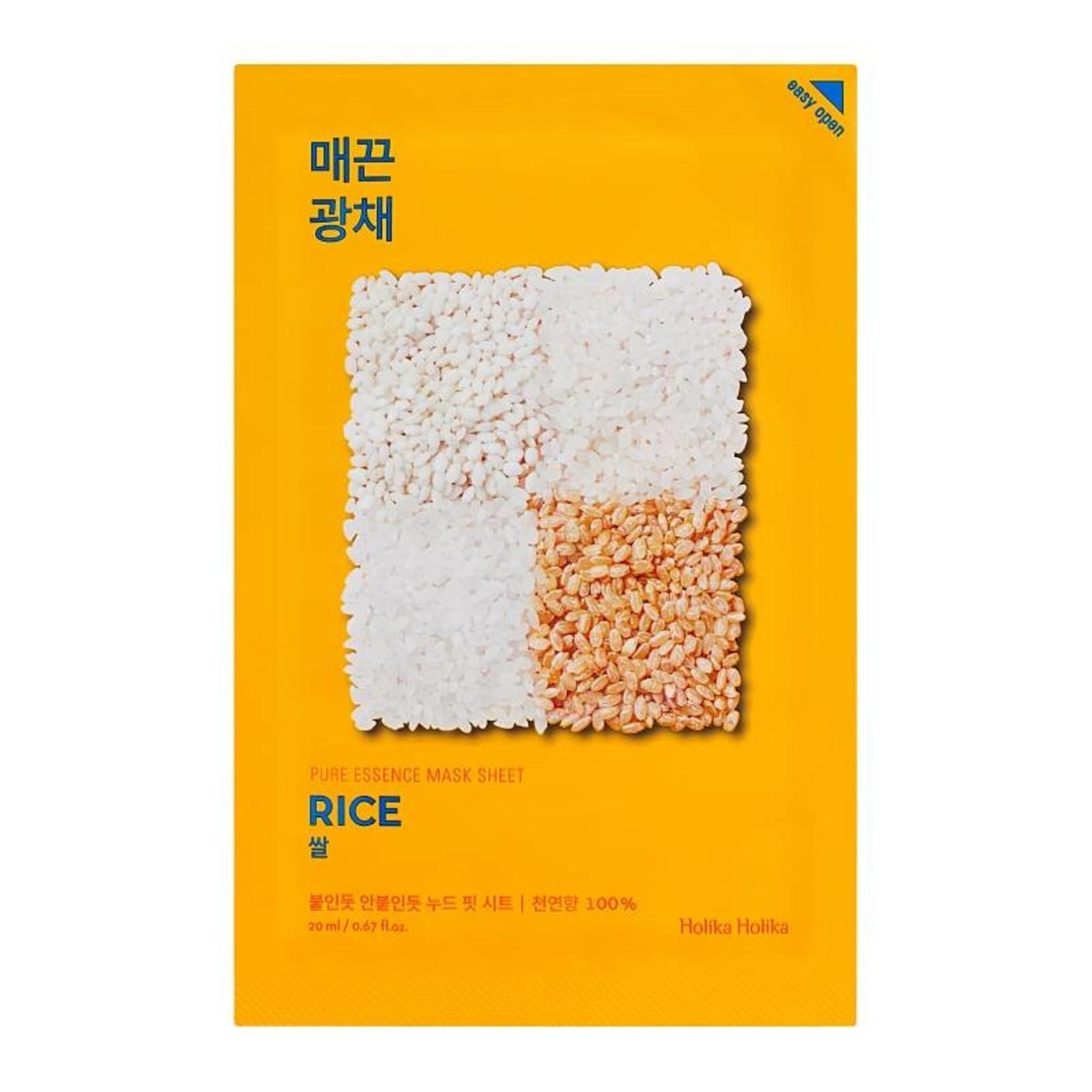Holika Holika Pure Essence Mask Sheet Rice 10 pcs