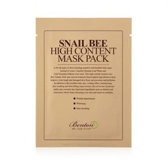 Snail Bee High Content Mask 10 pcs