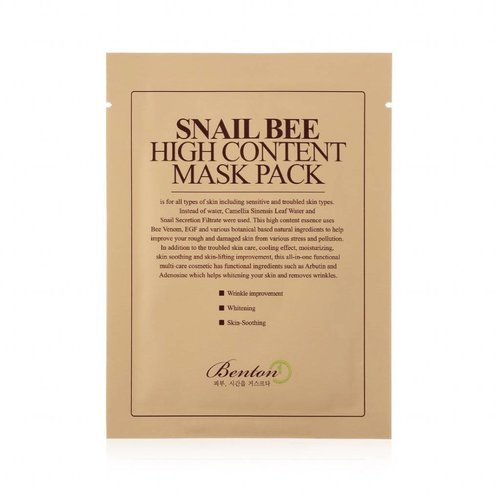 Benton Snail Bee High Content Mask 10 pcs