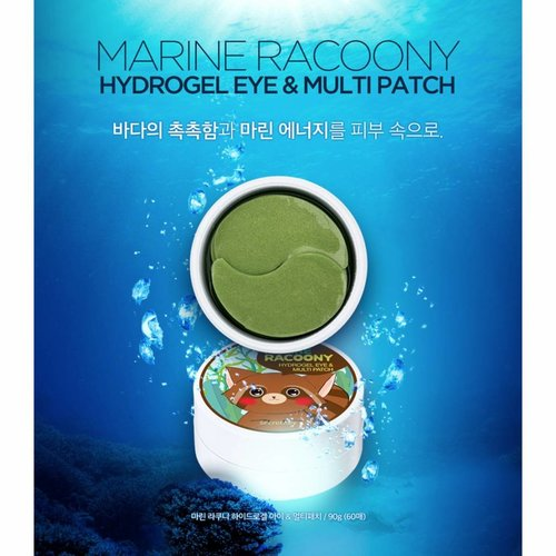 Secret Key Marine Racoony Hydro Gel Eye & Multi Patch