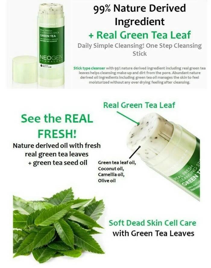 Image result for neogen green tea cleanser stick