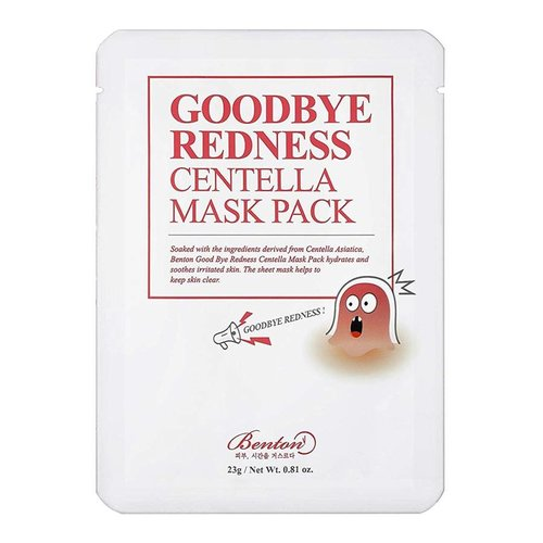 Benton Goodbye Redness Centella Mask Pack 10 pcs