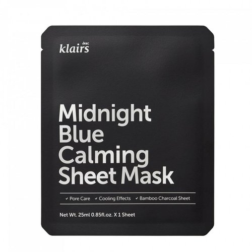 Klairs Midnight Blue Calming Sheet Mask 10 pcs