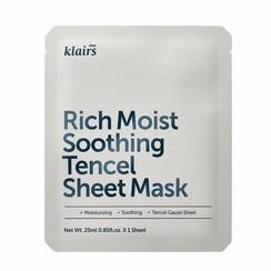 Rich Moist Soothing Tencel Sheet Mask 10 pcs