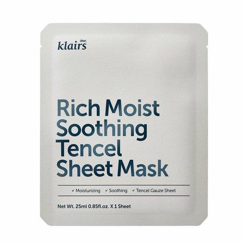 Klairs Rich Moist Soothing Tencel Sheet Mask 10 pcs