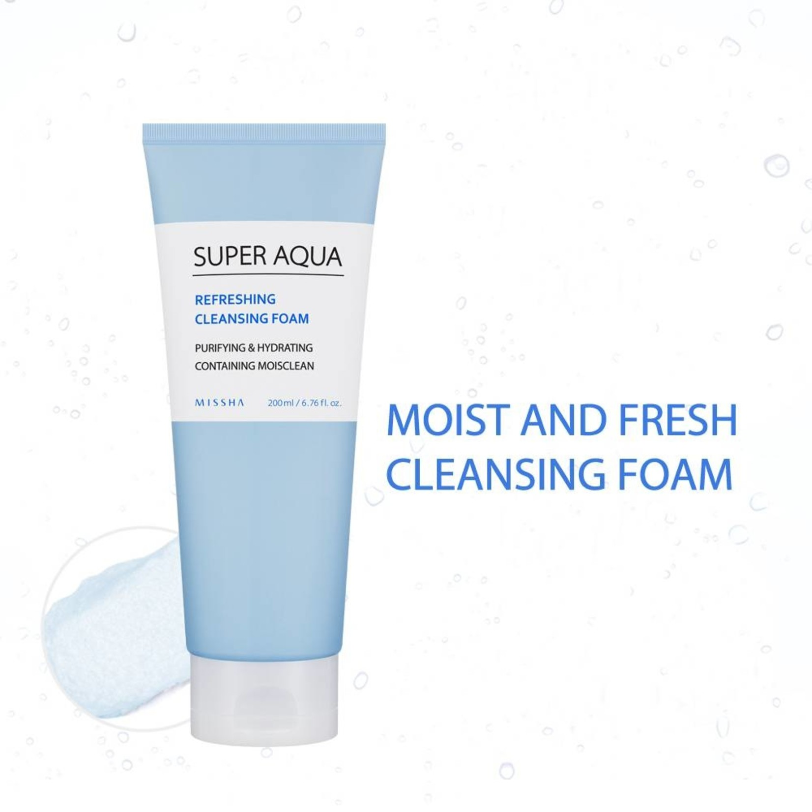 Missha Super Aqua Refreshing Cleansing Foam