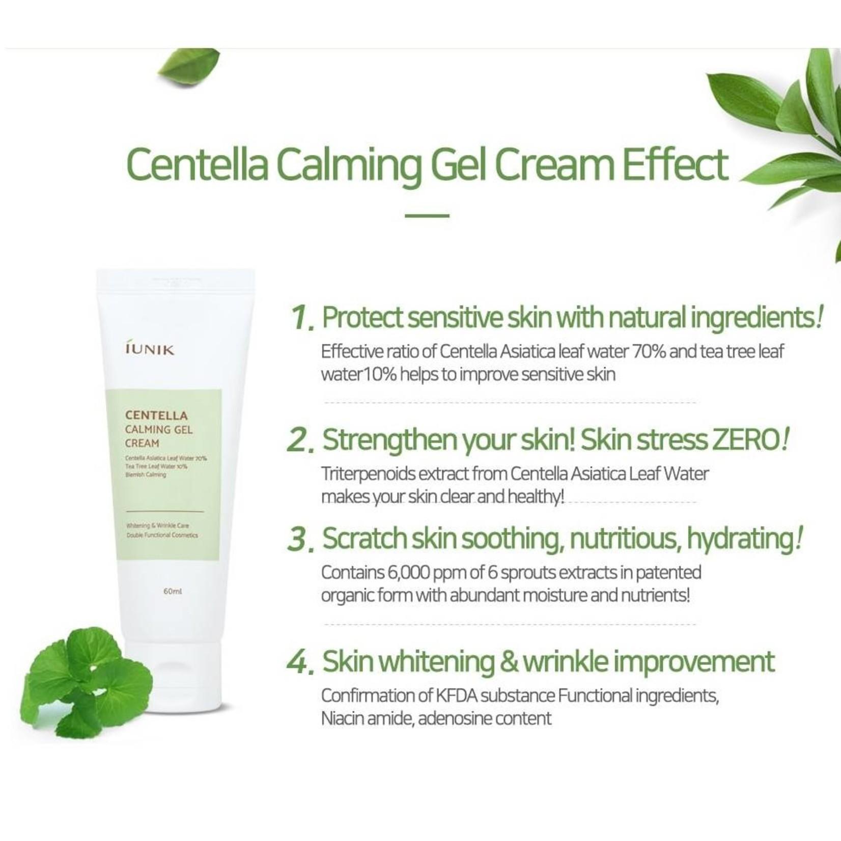 iUNIK Centella Calming Gel Cream