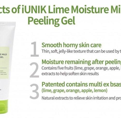 iUNIK Lime Moisture Mild Peeling Gel