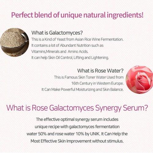 iUNIK Rose Galactomyces Synergy Serum