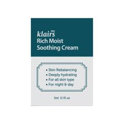 Rich Moist Soothing Cream Sample 50pcs