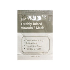 Freshly Juiced Vitamin E Mask Sample 50pcs