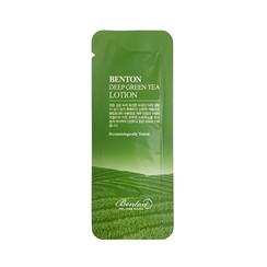 Deep Green Tea Lotion Sample 50pcs
