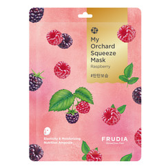 My Orchard Squeeze Mask Raspberry 10pcs
