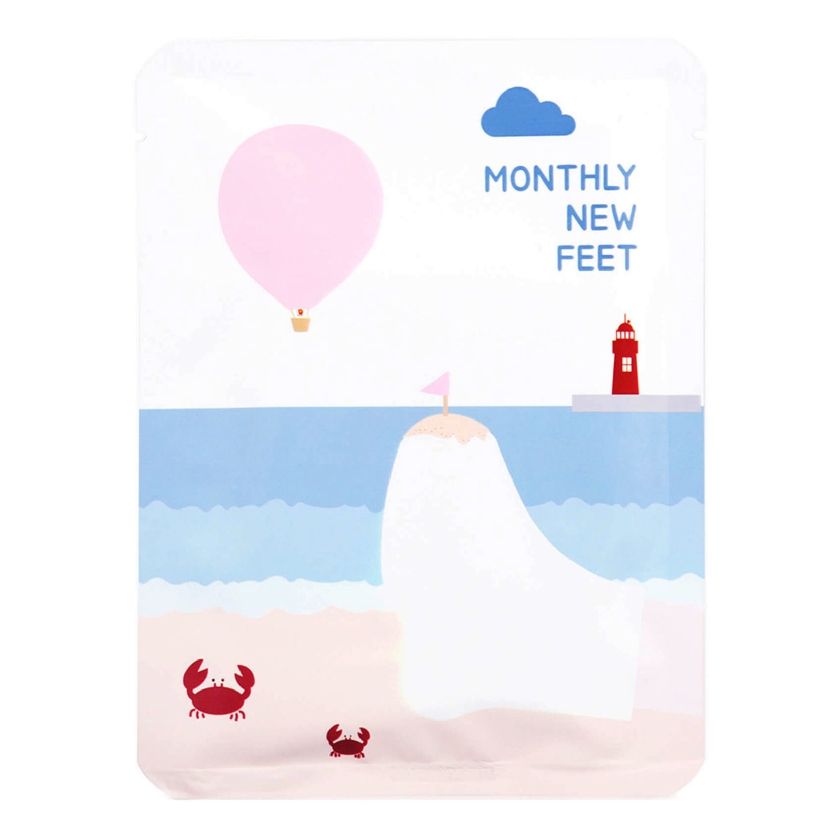 PACK-age Monthly New Feet Foot Pack 10pcs