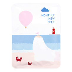 Monthly New Feet Foot Pack 10pcs