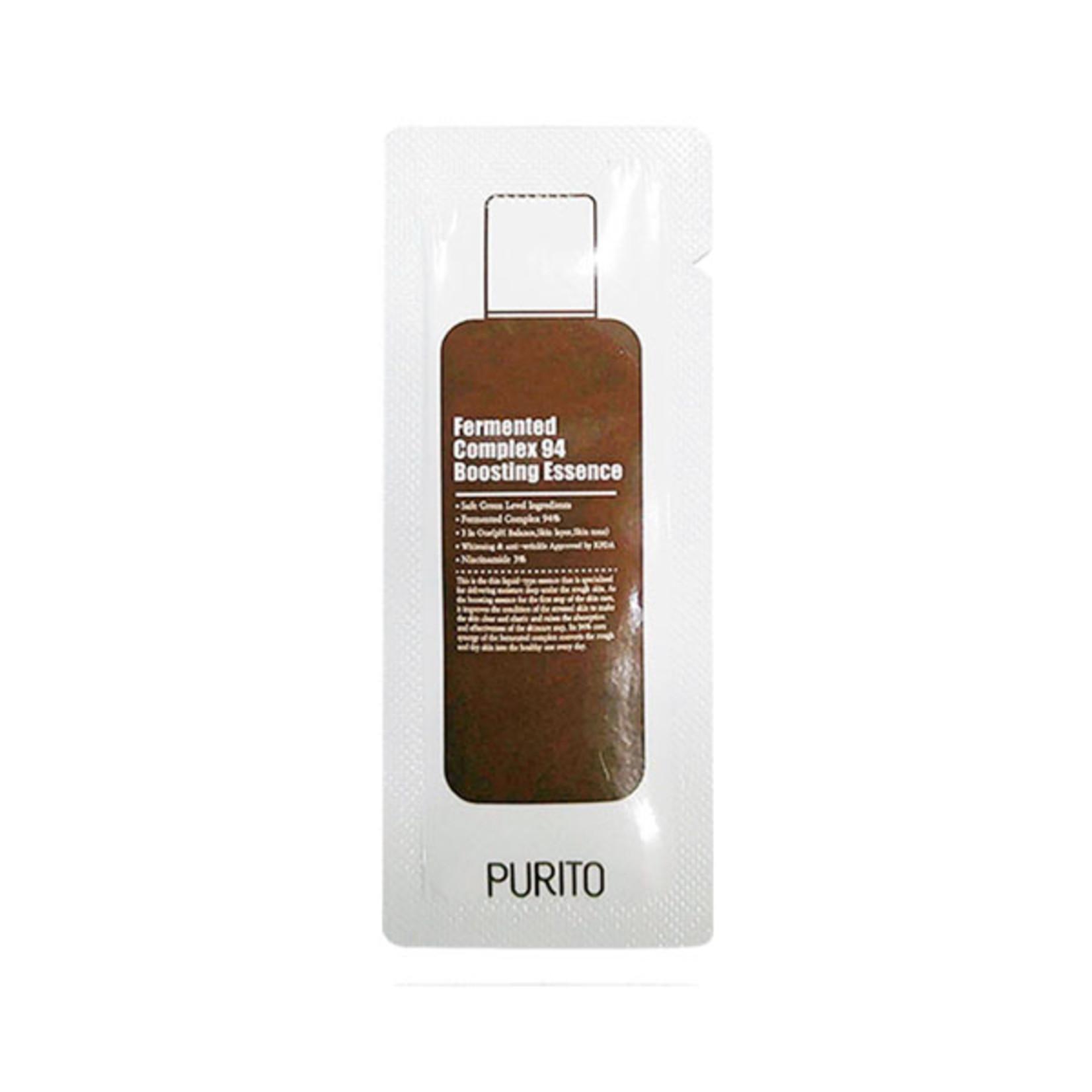 Purito Fermented Complex 94 Boosting Essence Sample 50pcs