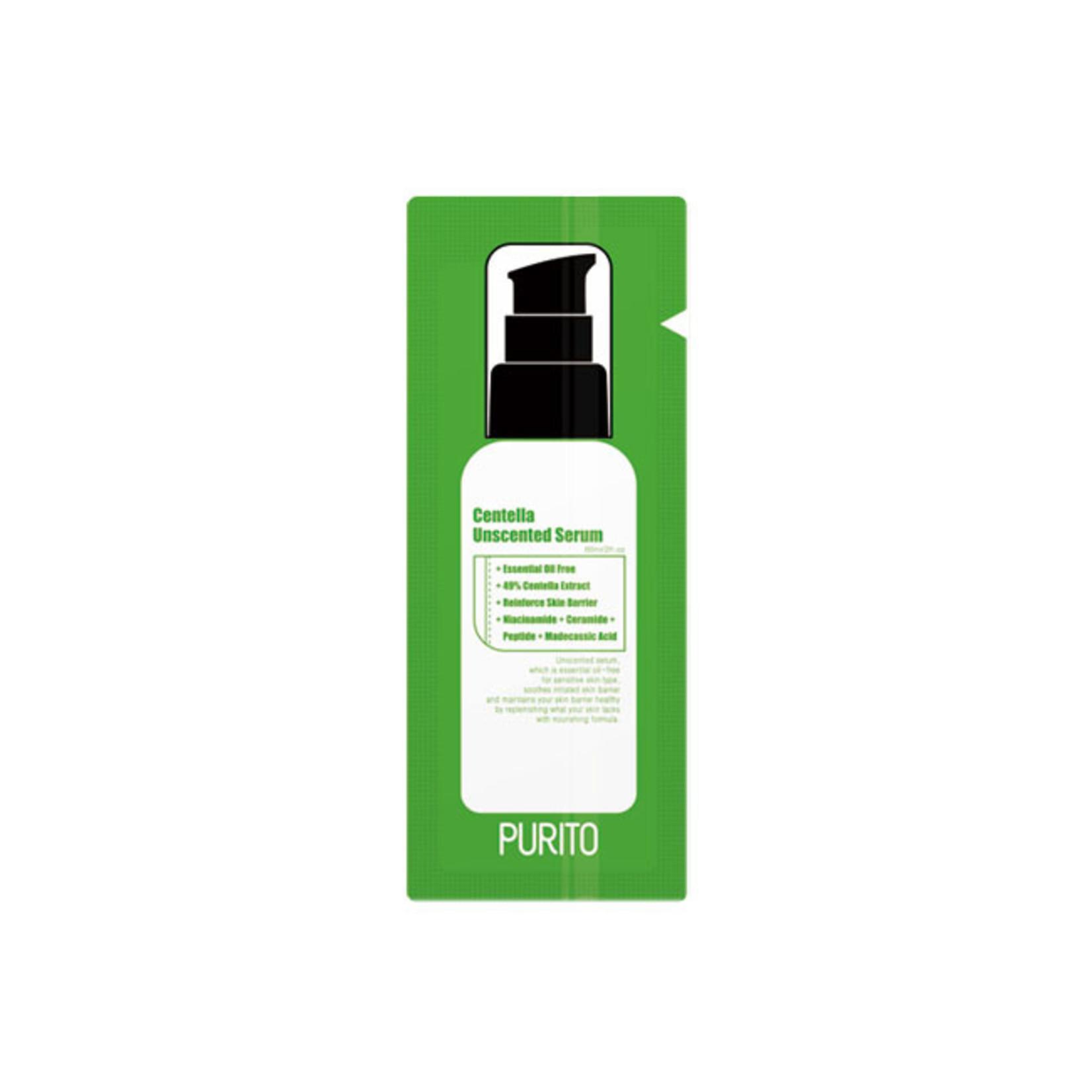 Purito Centella Unscented Serum Sample 50pcs