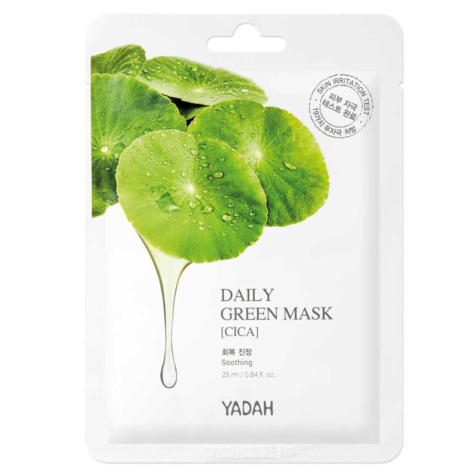 Yadah Daily Green Cica Mask 10 pcs
