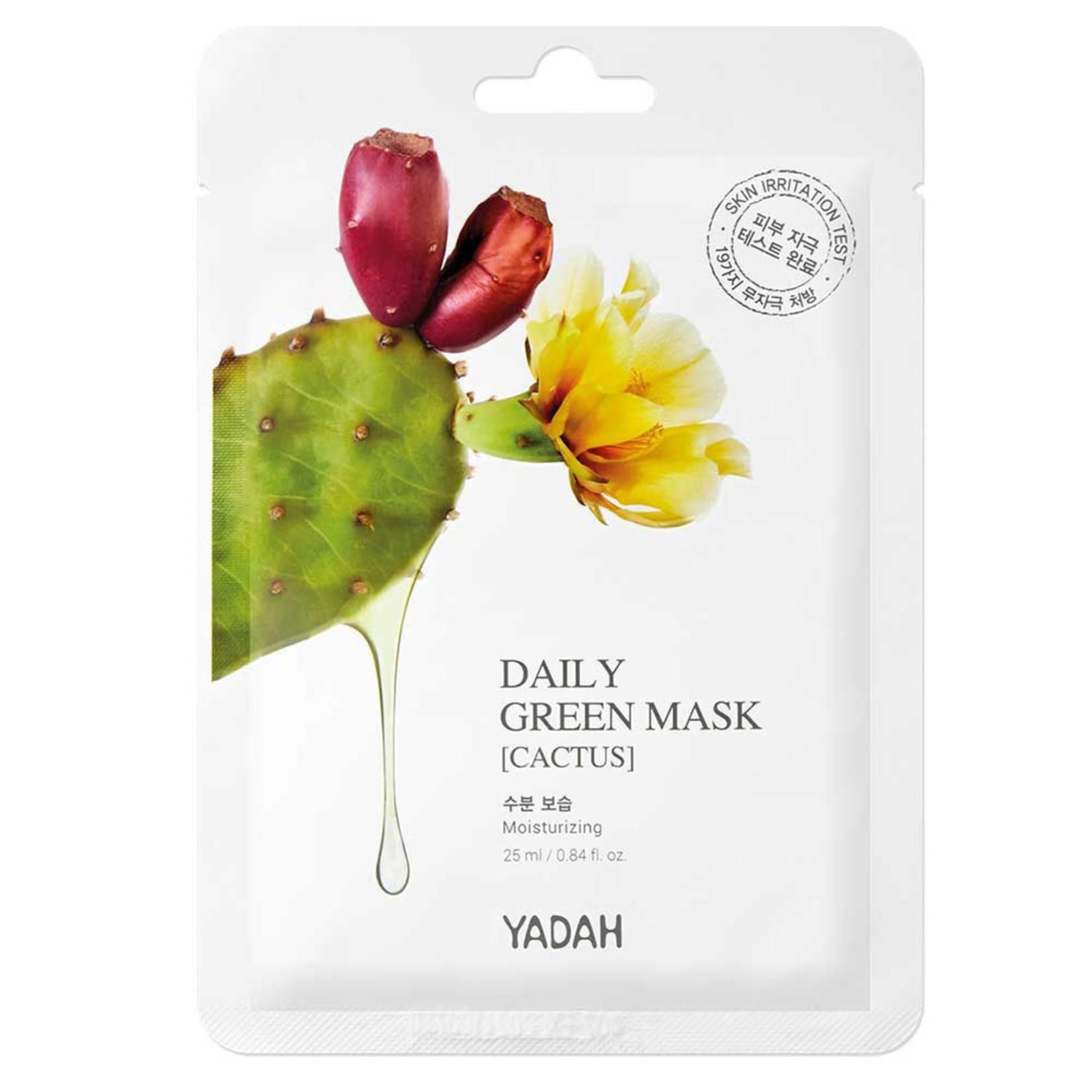 Yadah Daily Green Cactus Mask 10 pcs