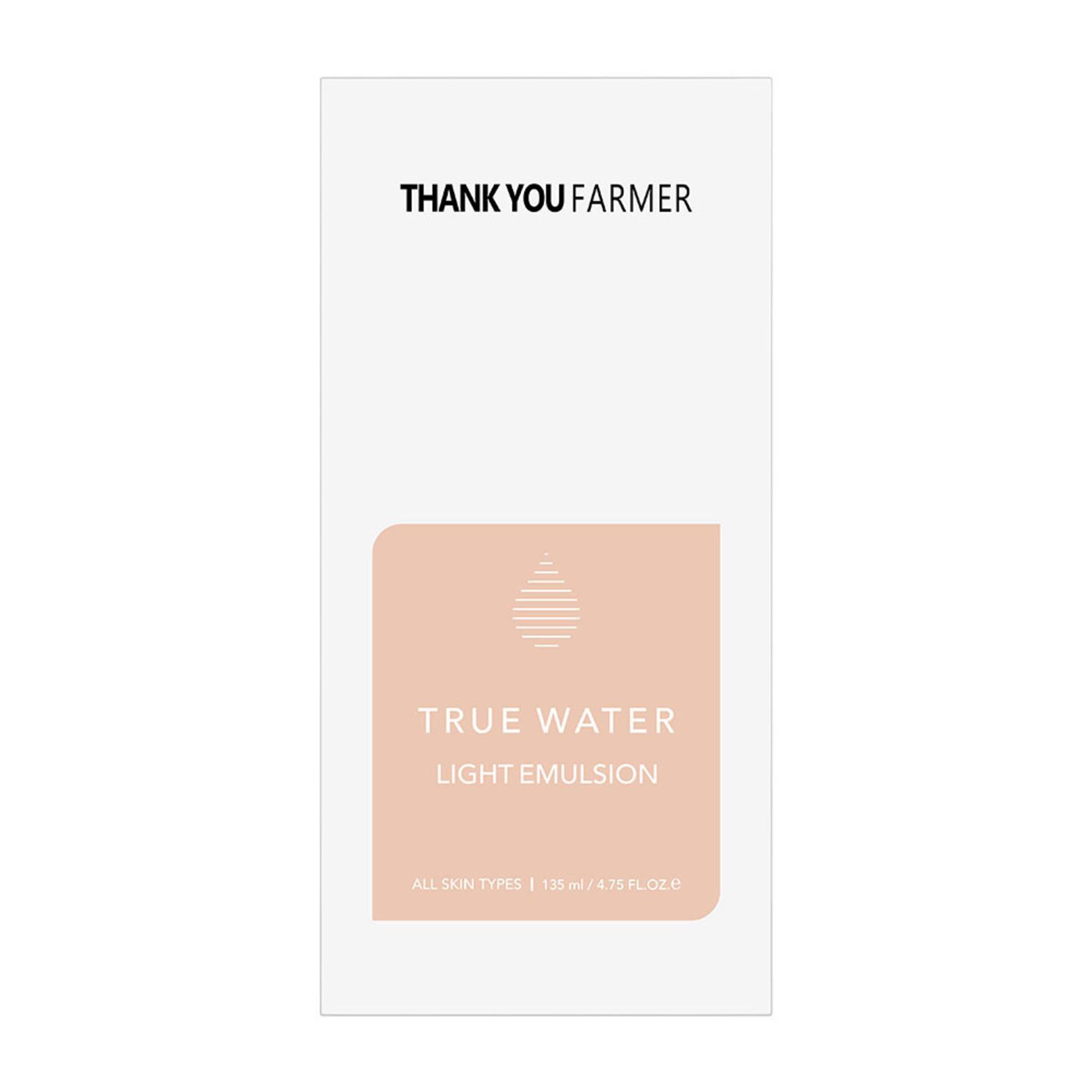 Thank You Farmer True Water Light Emulsion