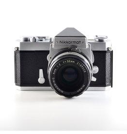 Nikon Nikkormat FTn 50 / 2,0 MF (Occasion)