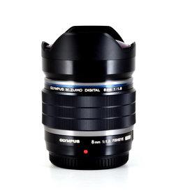 Olympus Demo Olympus m.Zuiko Pro 8mm f1.8 Fisheye