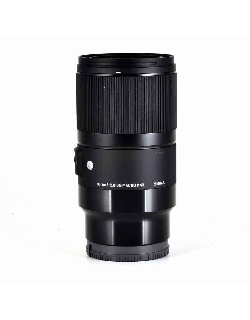 Sigma 70mm F2,8 DG MACRO Sony
