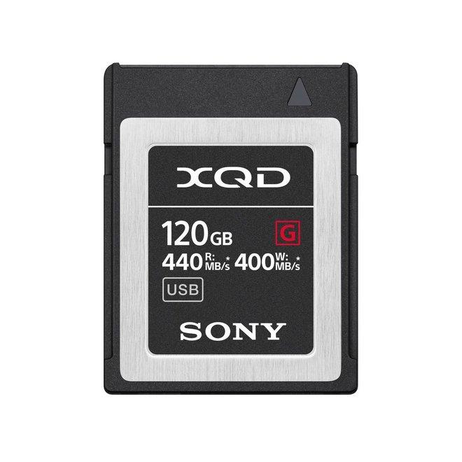 Sony XQD Card 120GB QDG120F - 440MBs