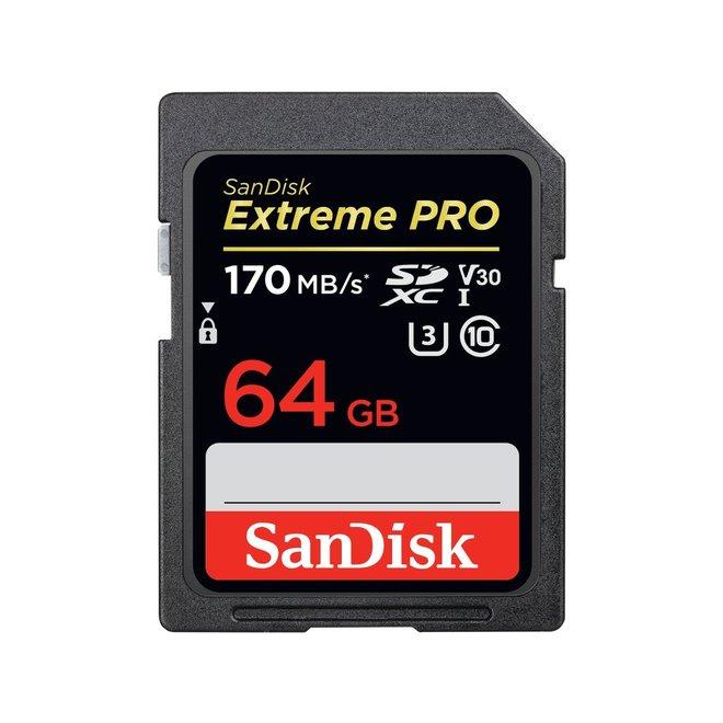 Sandisk ExtremePro 170MBs SDXC 64GB