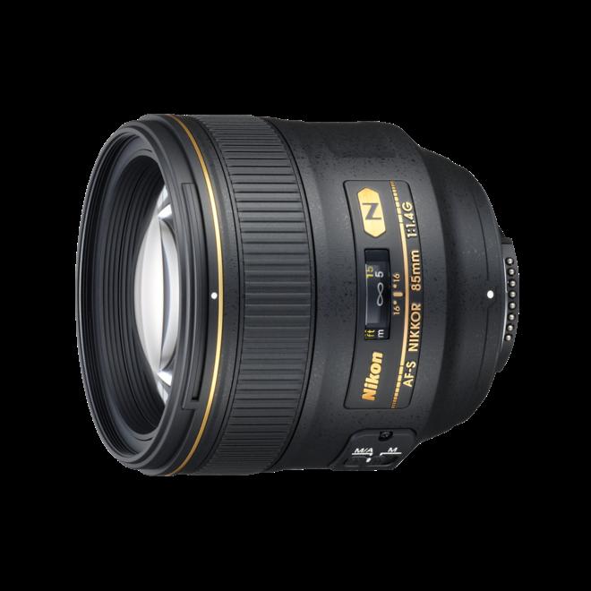 Nikkor AF-S 85mm/1.4G - Nikon Schweiz Partner - CH Produkt