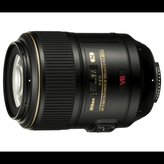 Nikkor AF-S 105mm F/2.8 VR Micro IF ED - Nikon Schweiz Partner - CH Produkt