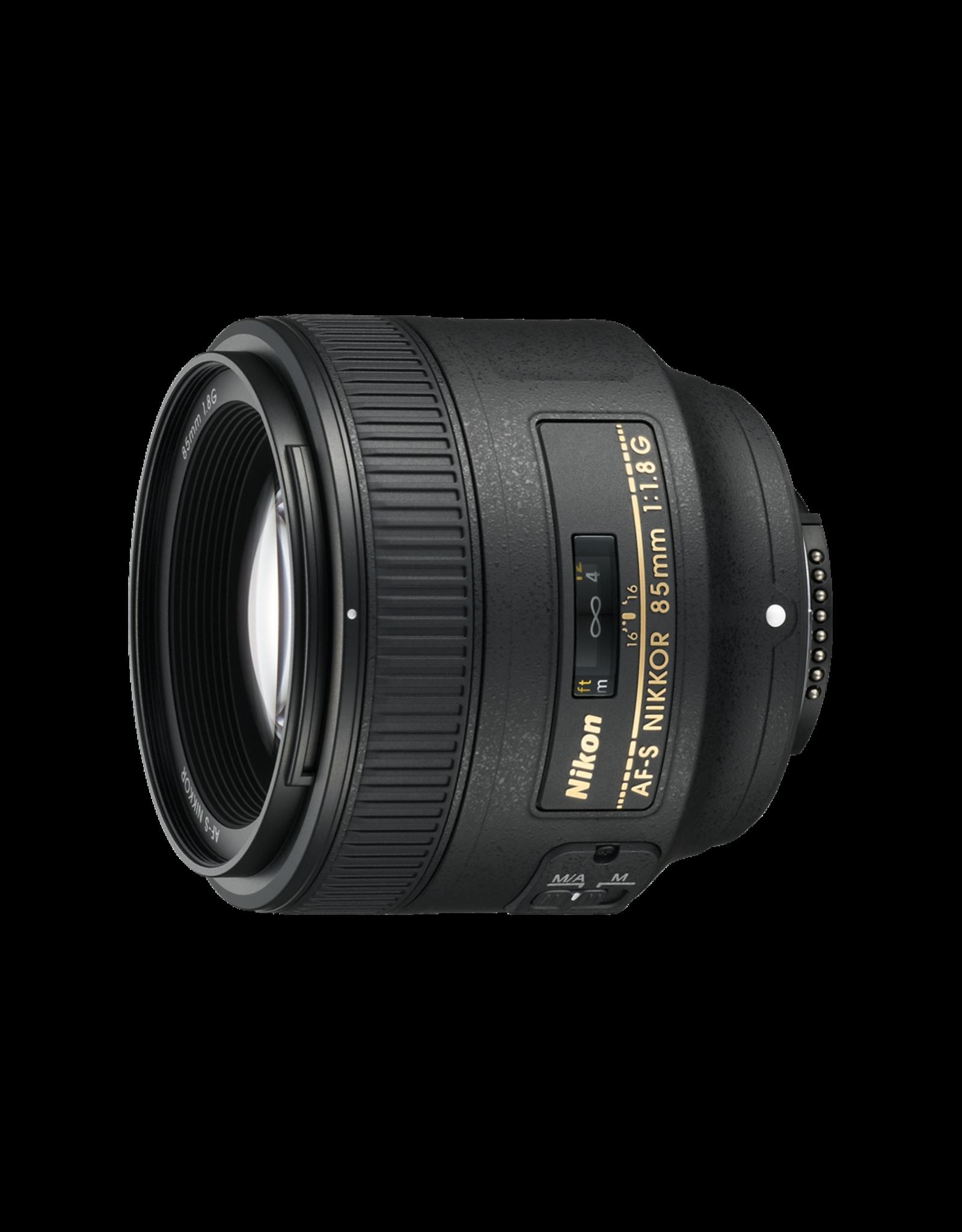 Nikon Nikkor AF-S 85mm/1.8G - Nikon Pro Partner