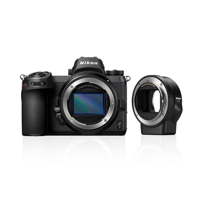 Nikon Z7 Kit Body + FTZ Obj. Adapter