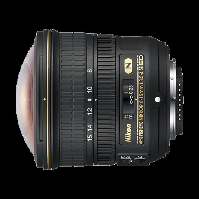 Nikkor AF-S Fisheye 8-15mm 1:3.5-4.5E ED