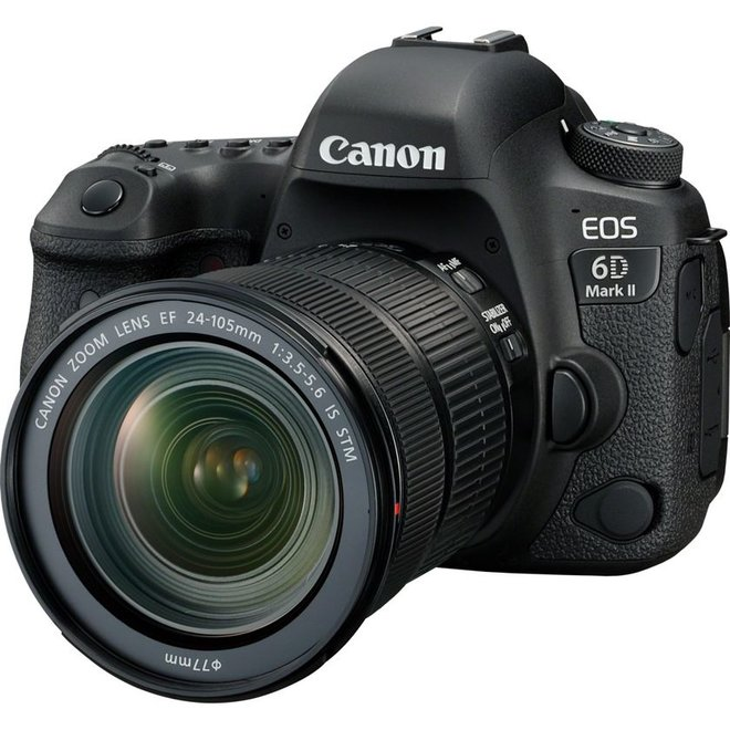 Canon EOS 6DII + EF24-105/3.5-5.6 IS STM -150 CHF Canon Cashback