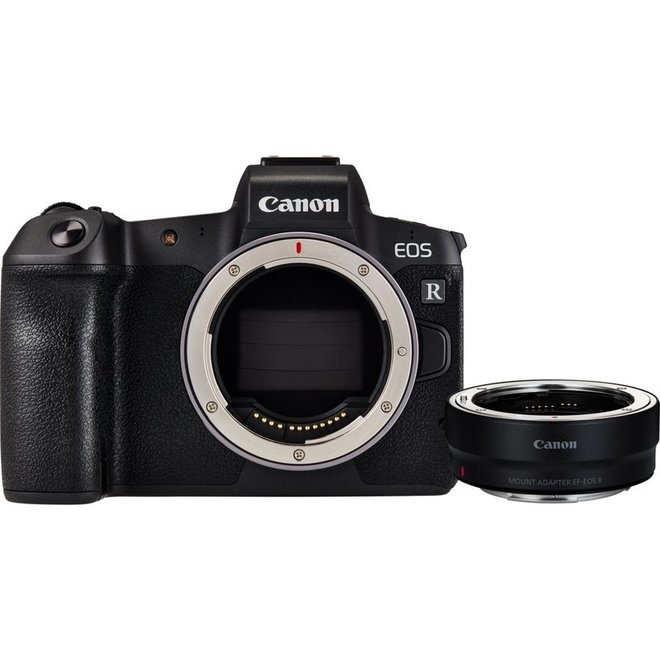 Canon EOS R Body + EF-EOS R Adapter - Canon Schweiz Partner - CH Produkt