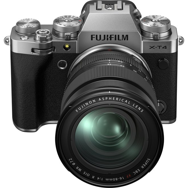 Fujifilm X-T4 Silver Kit XF16-80 - Fuji Schweiz Partner - CH Produkt