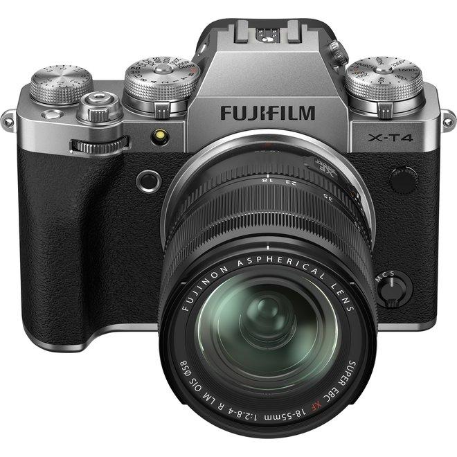 Fujifilm X-T4 Silver Kit XF18-55 - Fuji Schweiz Partner - CH Produkt