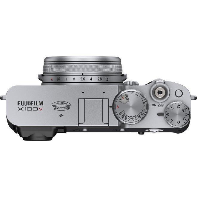 Fujifilm X100V Silver - Fuji Schweiz Partner - CH Produkt