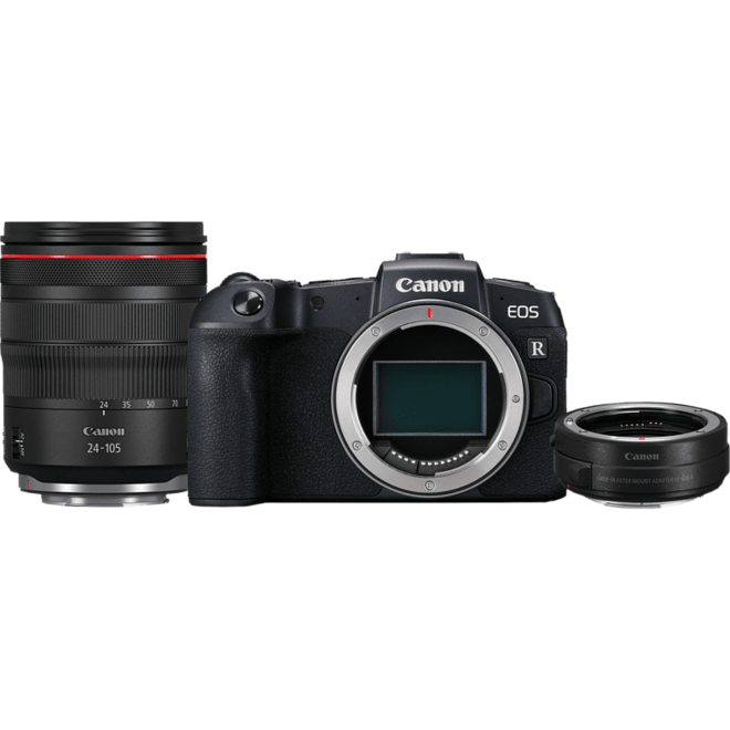 Canon EOS RP + RF 24-105mm f4.0 + RF Adapter
