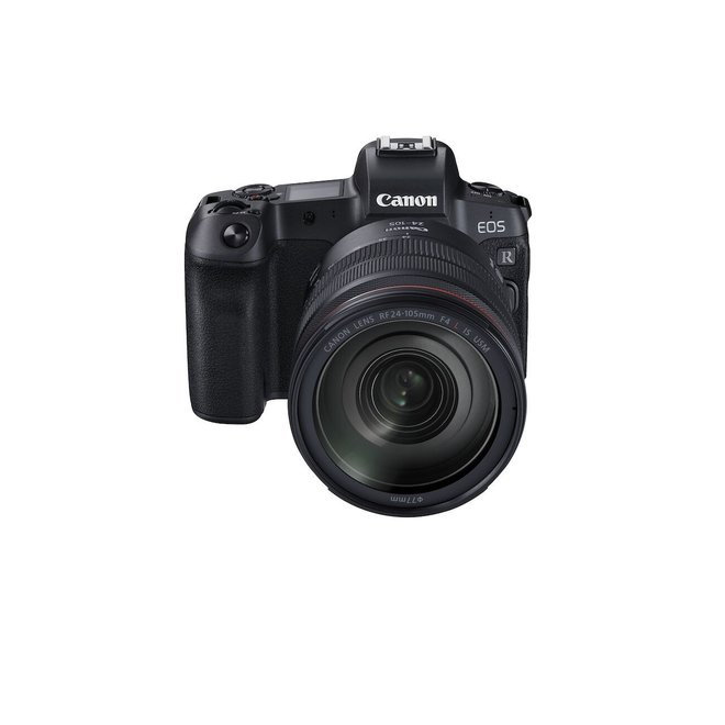 Canon EOS R + RF 24-105 f4.0 + Adapter
