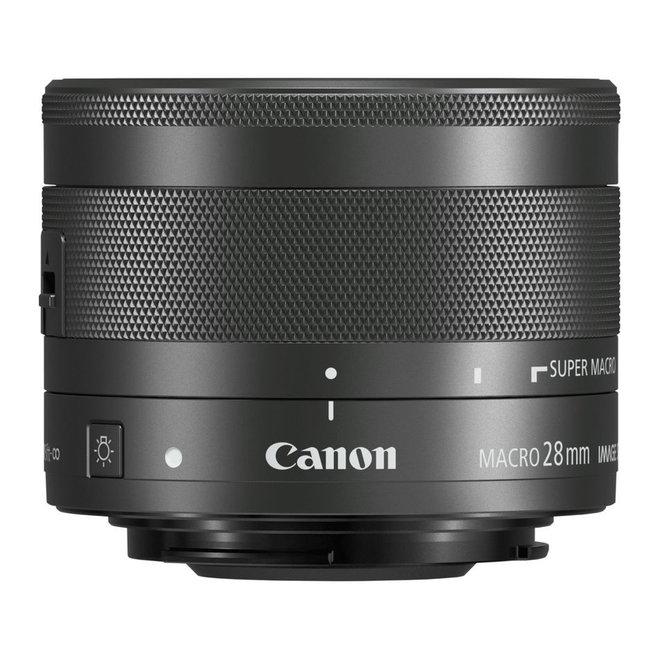 Canon EF-M 28mm f/3.5 IS STM Makro - Canon Schweiz Partner - CH Produkt